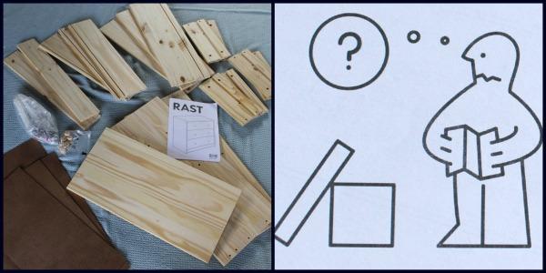Ikea Rast Dresser Hack