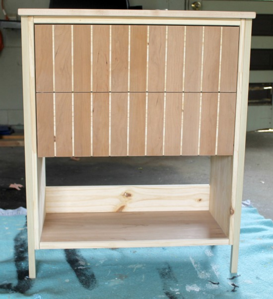 Ikea Rast Dresser Hack: Here's how to make a plain Ikea dresser into foyer table