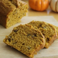 Gift Size Pumpkin Nut Bread