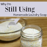 Why I'm Still Using Homemade Laundry Soap