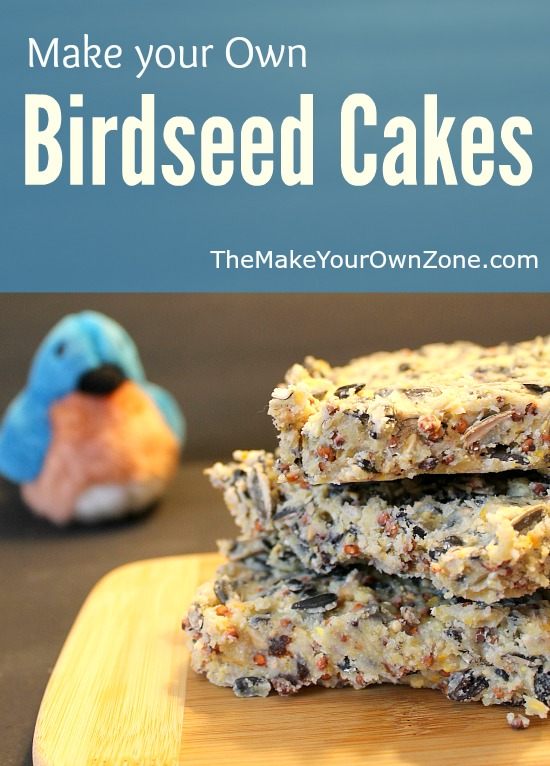 How To Make Your Own Bird Seed Cakes