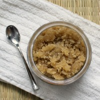 Save money and pamper yourself too with this easy homemade brown sugar body scrub.