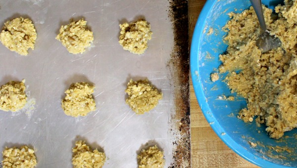 Homemade cookie recipe with coconut and oatmeal - Delicious!