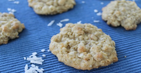 Coconut Oatmeal Cookies - A classic cookie recipe with a great flavor combo. It's a favorite at our house!