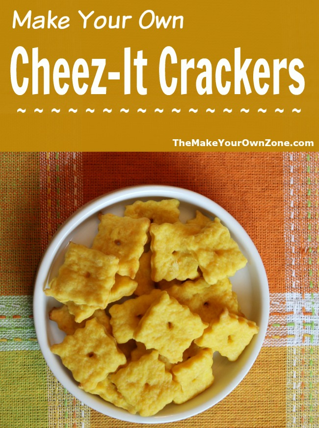 Make Your Own Cheez-It Crackers