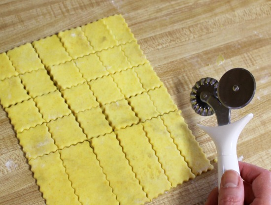 Recipe for homemade Cheez-it Crackers