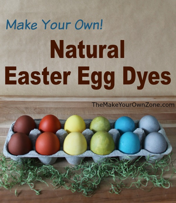 There's no need to buy Easter egg dye from the store when you can use all natural ingredients from your kitchen - here's how to make your own natural Easter egg dyes
