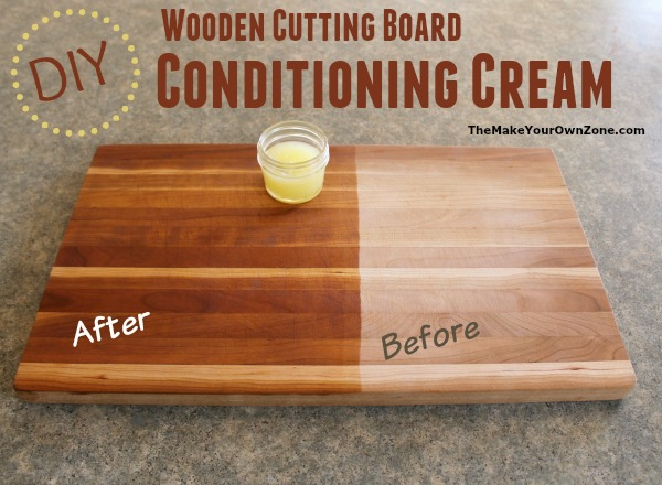 Diy wooden cutting board conditioning cream for Diy personalized wood cutting board