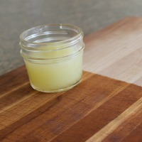Make your own wood cutting board conditioning cream