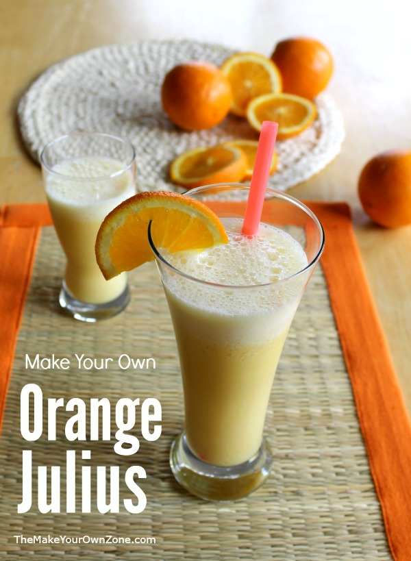 Make Your Own Orange Julius - Make this copycat Orange Julius at home with easy ingredients and your blender!