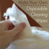 Make your own disposable cleaning wipes
