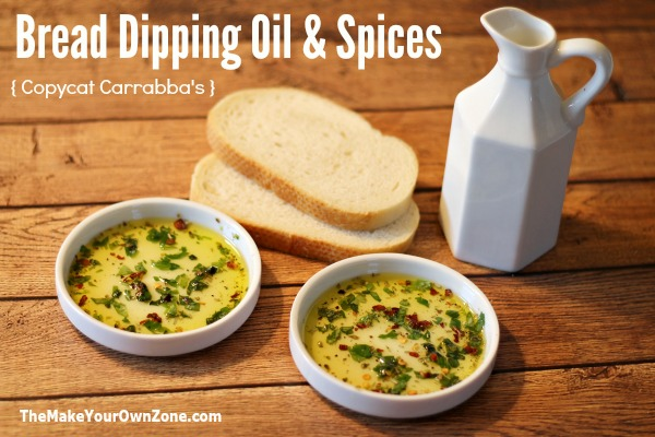 Bread Dipping Oil and Spices {Copycat Carrabba's}