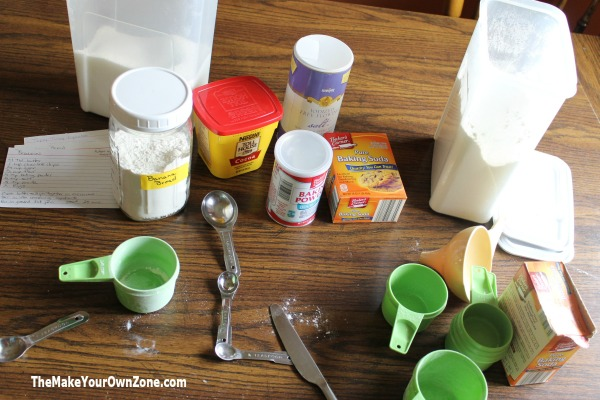 How to make homemade baking mixes from your favorite recipes