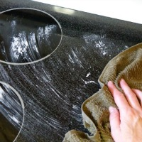 How to clean a smooth stovetop the frugal way