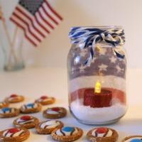 Patriotic Jars (and Pretzel Treats!)
