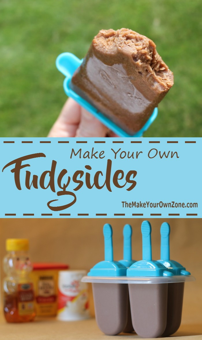 Make your own fudgsicles, Homemade fudgsicles that both the kids and adults will love!