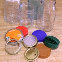 How to make your own creative tops for mason jars