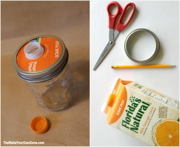 Make your own tops for canning jars