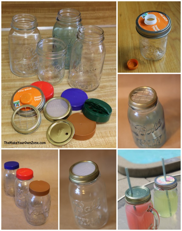 creative mason jar tops for the diy crowd the make your own zone