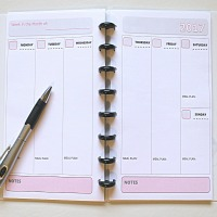Make Your Own Planner:  My Supplies