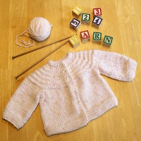 Another 5 Hour Baby Sweater {Knit Pattern}