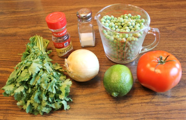 Recipe for Pea Guacamole - a heart healthy alternative to avocados that still tastes great!