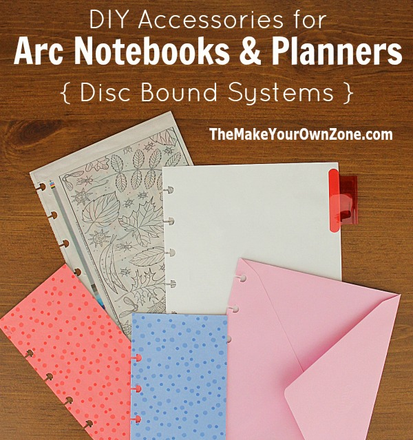 Diy Notebook Calendar : Ideas for diy arc planner accessories the make your own zone