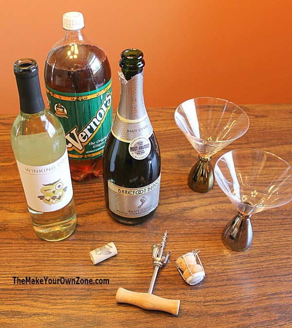 Quick Sparkling Punch Recipe - Just open three bottles and pour them together!
