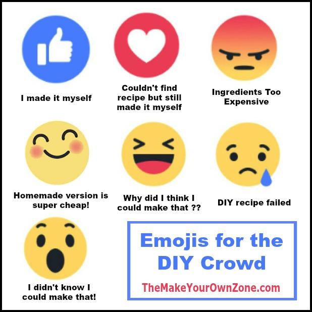 Emojis for the DIY Crowd
