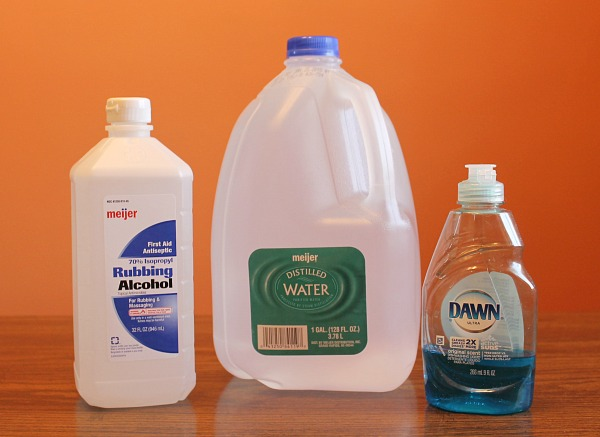 How to make your own floor cleaner with no vinegar
