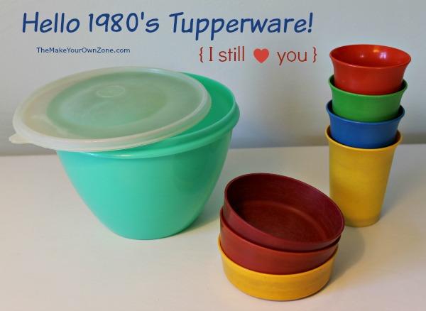 1980's Vintage Tupperware