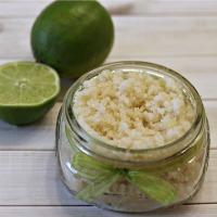 Springtime Coconut Lime Hand Scrub