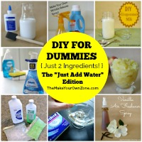 DIY For Dummies {Just Add Water!}