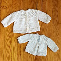 5 Hour Knit Baby Sweater – A Little Smaller!