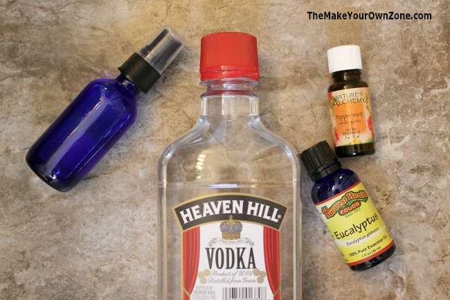 """DIY Poo Spray - Make your own homemade version of this """"Spray Before You Go"""" toilet spray"""