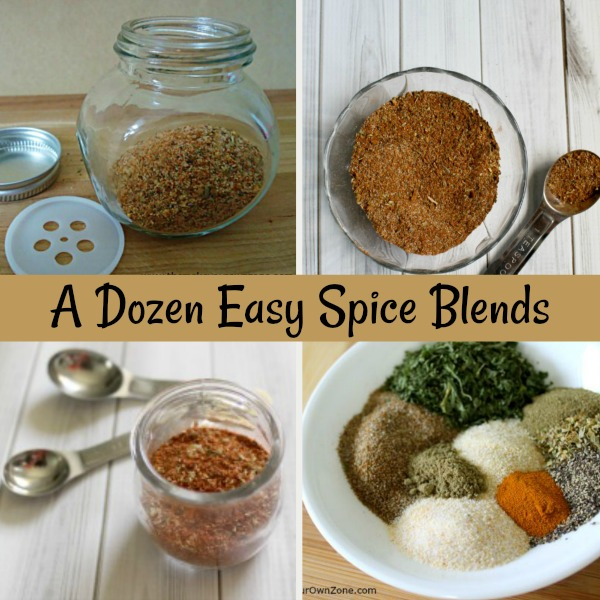 12 Recipes to make your own spice mixes