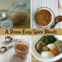 A Dozen Homemade Spice Mixes
