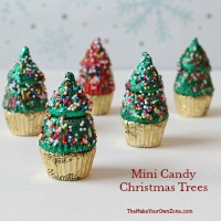 How to make mini Christmas trees