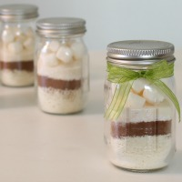 Mini Layered Hot Chocolate Mix