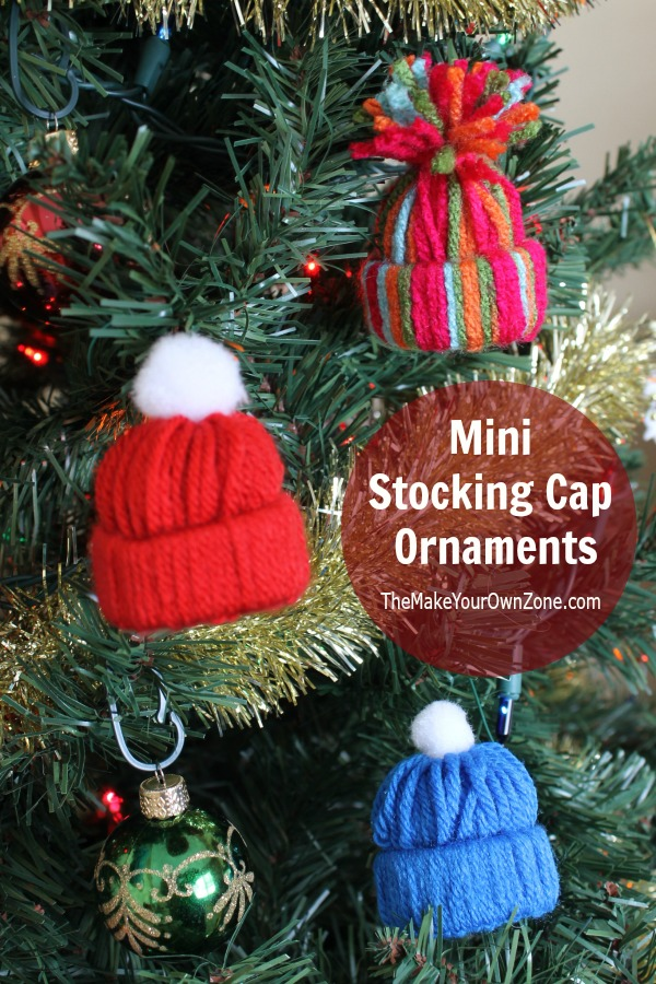 Easy Yarn Craft Mini Stocking Cap Ornament The Make