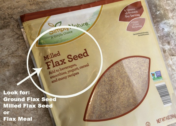 How to replace an egg in baking recipes with ground flax seed