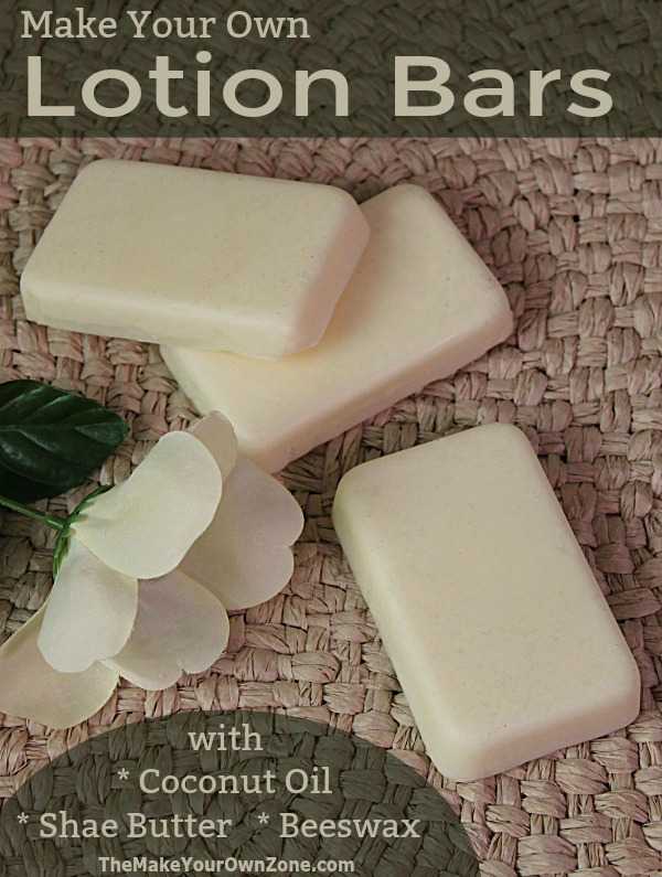 Homemade Lotion Bars - Natural Moisturizing with Coconut Oil, Shae Butter, and Beeswax