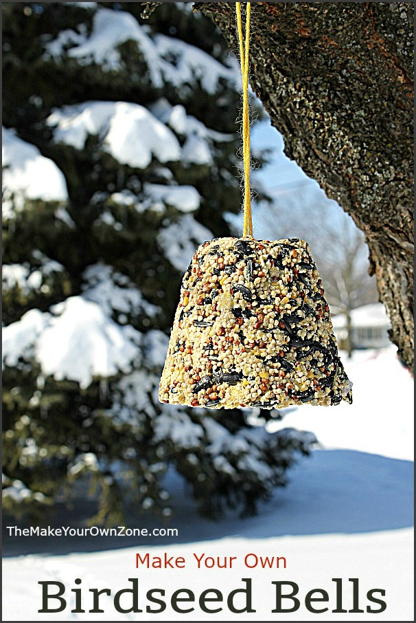 How to make homemade birdseed bells