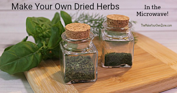 The best way to dry herbs in the microwave