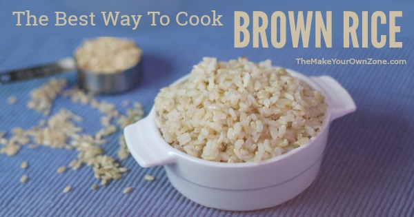 How to cook brown rice - the trick to finally having perfect brown rice!
