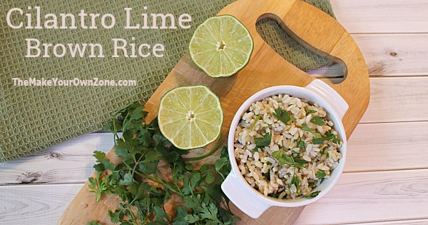 Make brown rice tasty with this easy Cilantro Lime Rice recipe