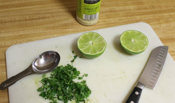 Ingredients for Cilantro Lime Rice recipe
