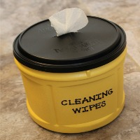 Homemade Disposable Cleaning Wipes {Version 2}