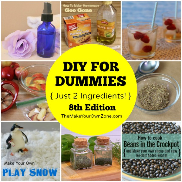 Super easy 2 ingredient DIY recipes that anyone can make!