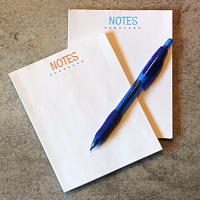 How to make DIY Notepads and homemade padding compound
